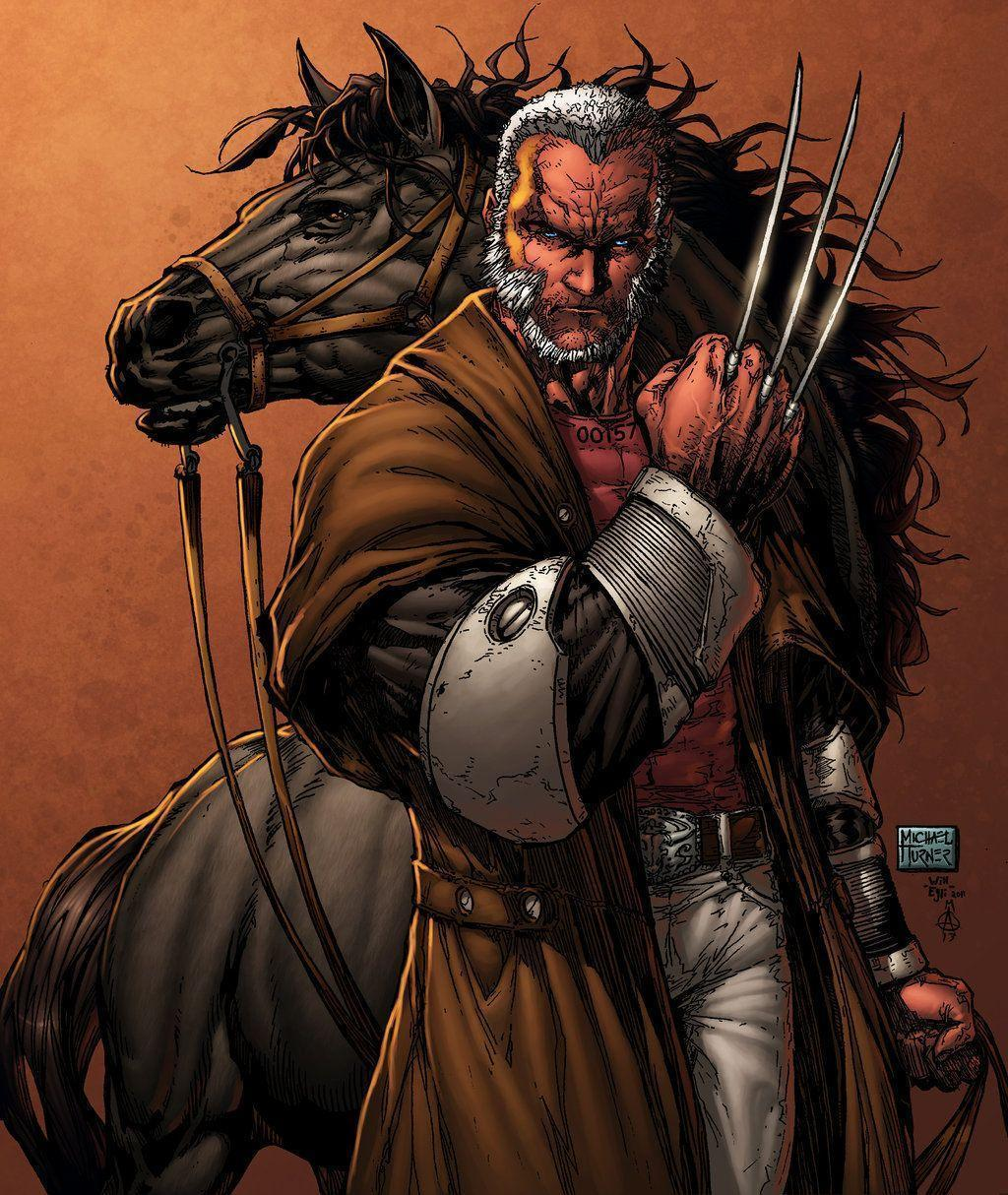 Old Man Logan Inked Turner Egli By Surftiki by ...