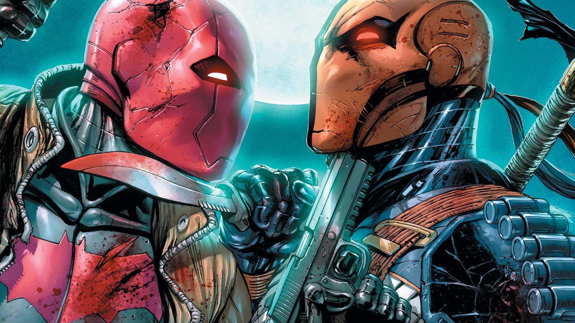 New 52 Deathstroke, Red Hood vs Old Man Logan, X-23 - Battles ...