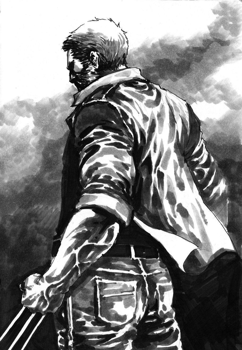 Old Man Logan by dikeruan on DeviantArt