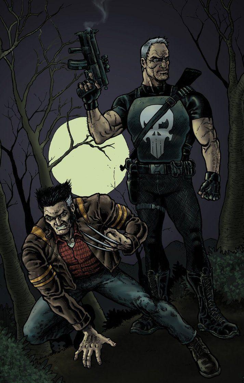 Batman & Mr. Freeze vs Old Man Logan & Punisher - Battles - Comic Vine
