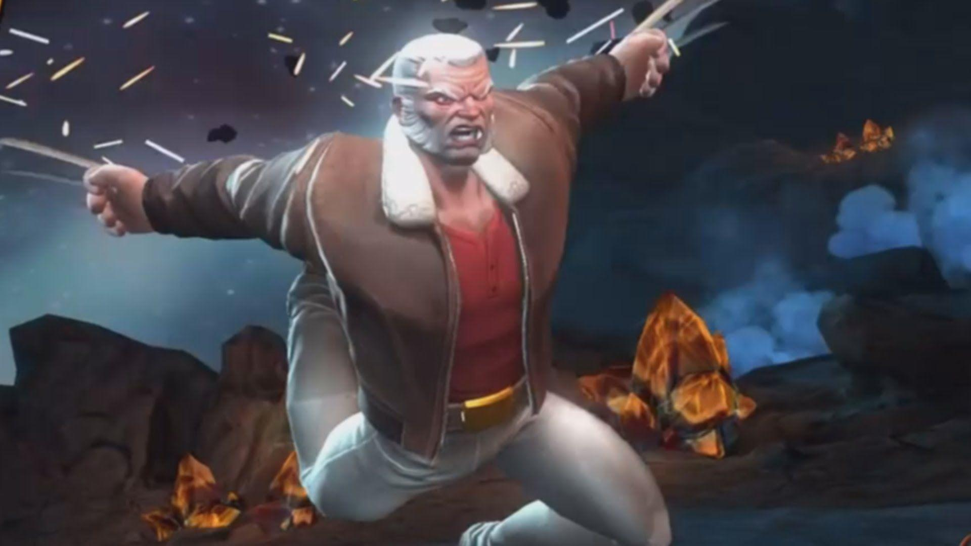 OLD MAN LOGAN REVIEW   MARVEL: Contest of Champions (iOS/Android ...