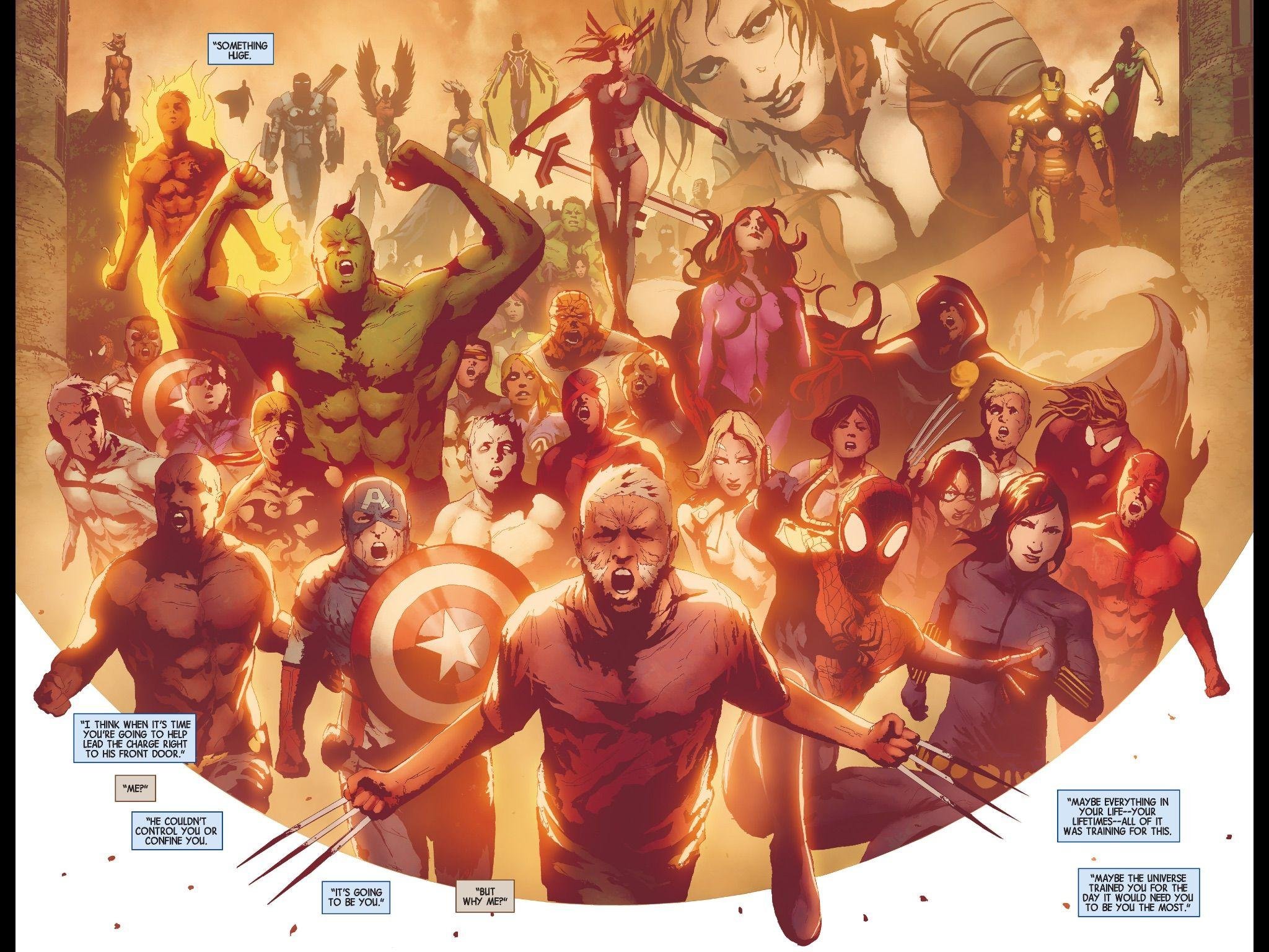 Who is the Prophet? - Secret Wars - Comic Vine