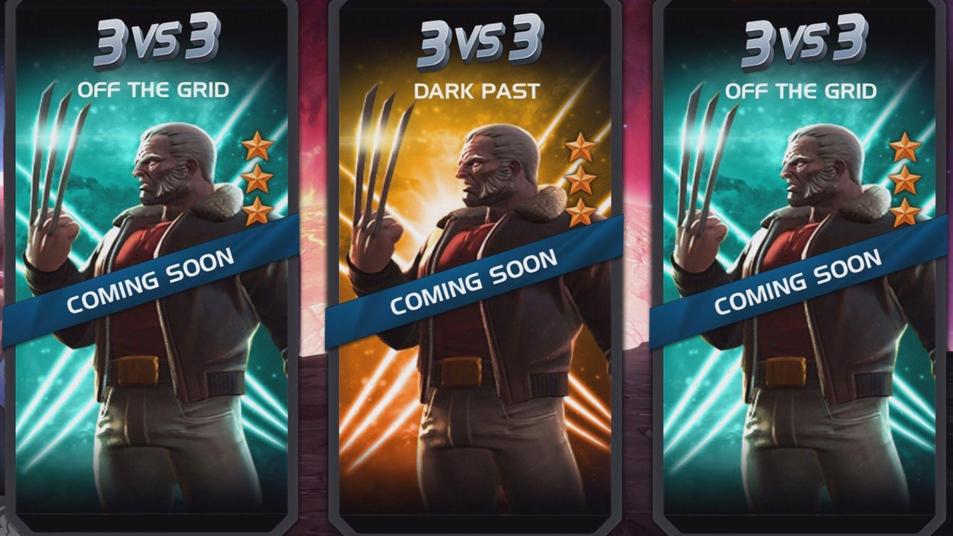 OLD MAN LOGAN is next   MARVEL: Contest of Champions (iOS/Android ...