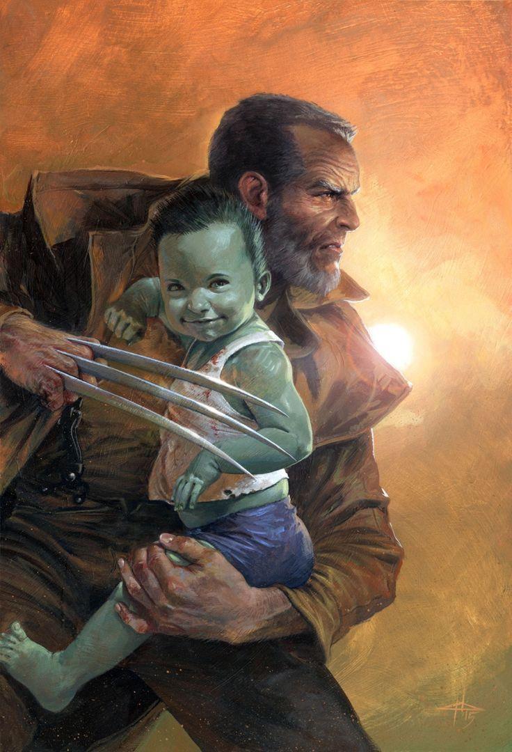 Old Man Logan #1 Variant - Gabrielle Dell'Otto   Wolverine ...