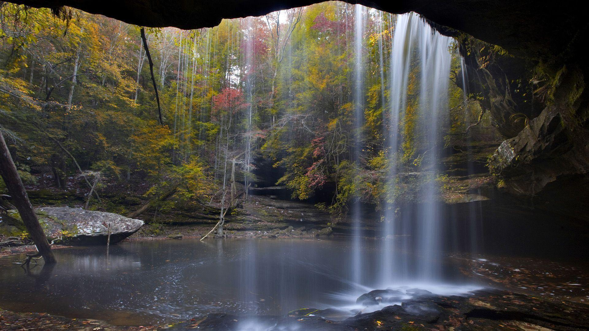 Sipsey Wilderness Waterfall Alabama Wallpaper - WallDevil
