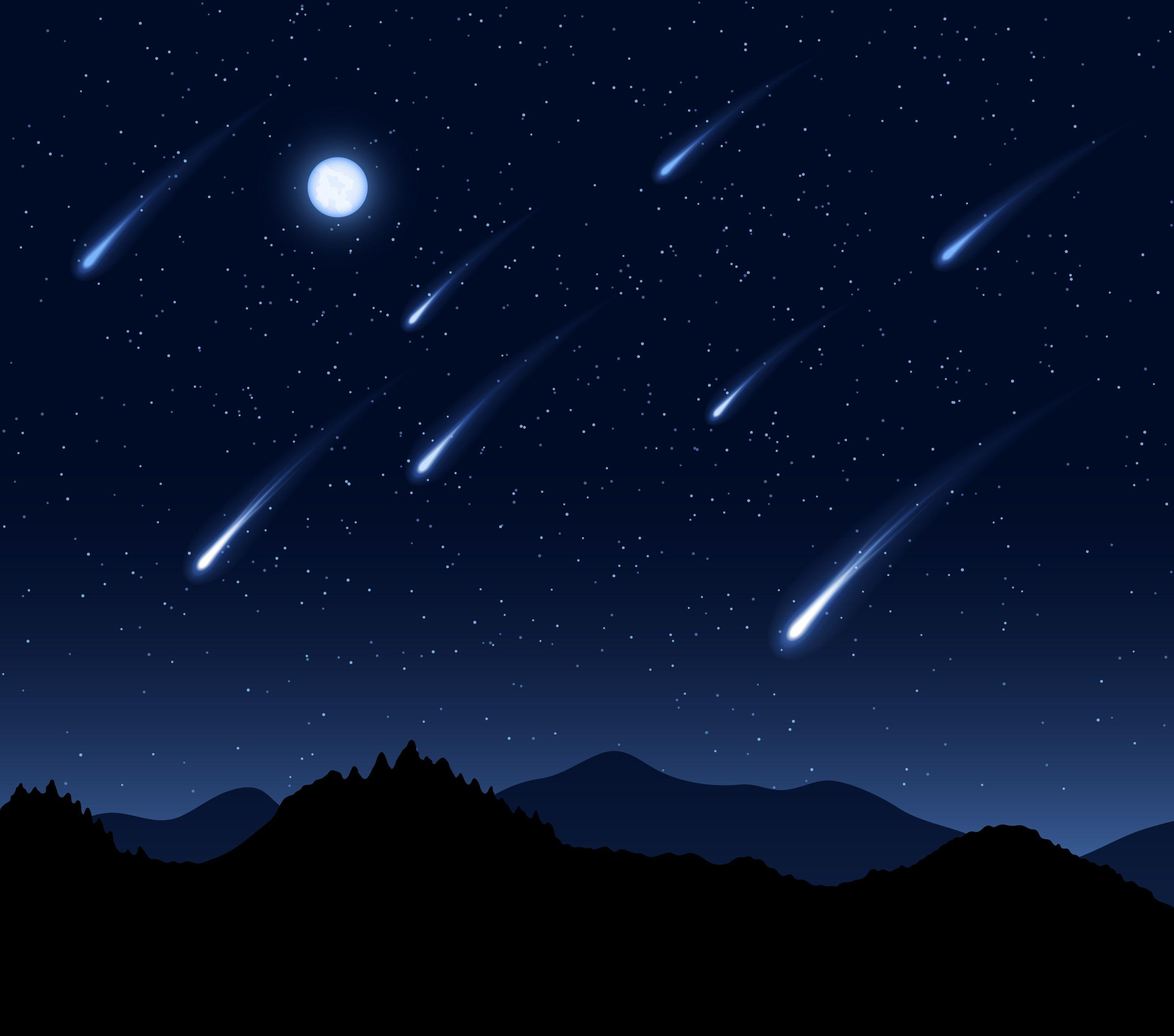 Perseid Meteor Shower Wallpaper - wallpaper.