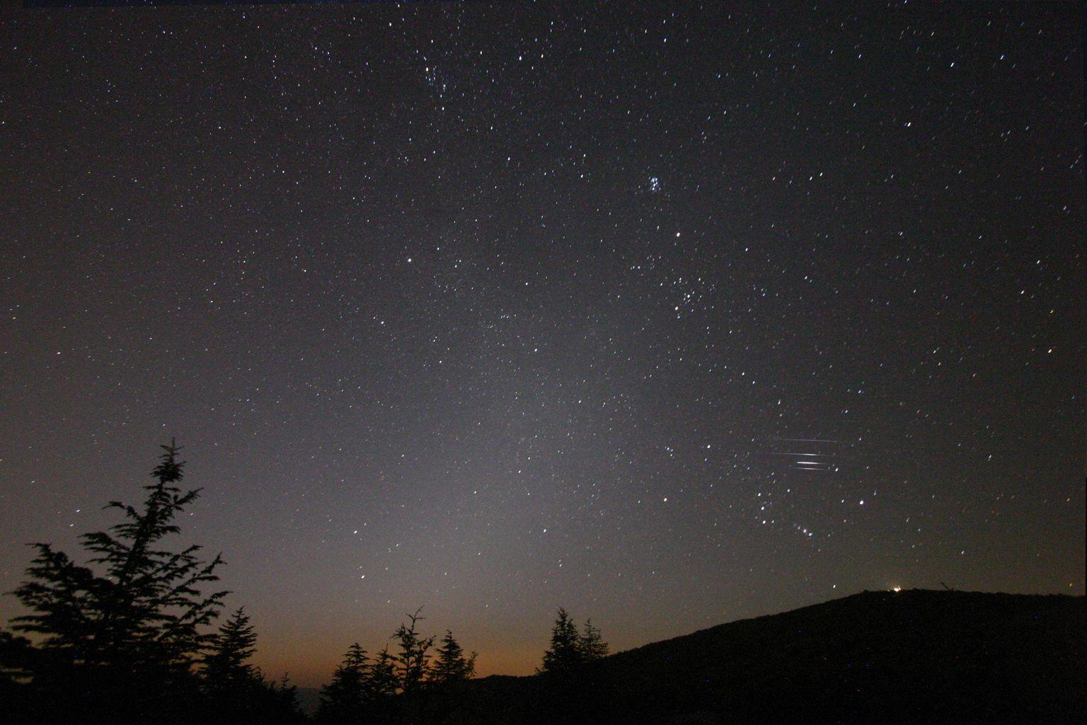 Spaceweather.com: 2007 Perseid Meteor Shower photo gallery