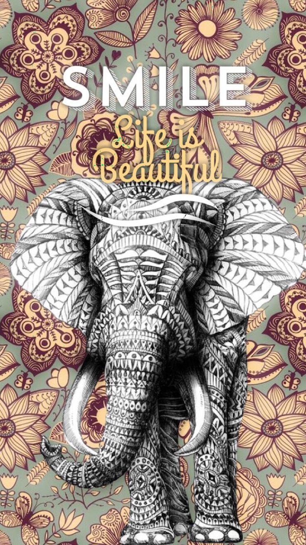 Best 20+ Elephant wallpaper ideas on Pinterest   Printed art ...