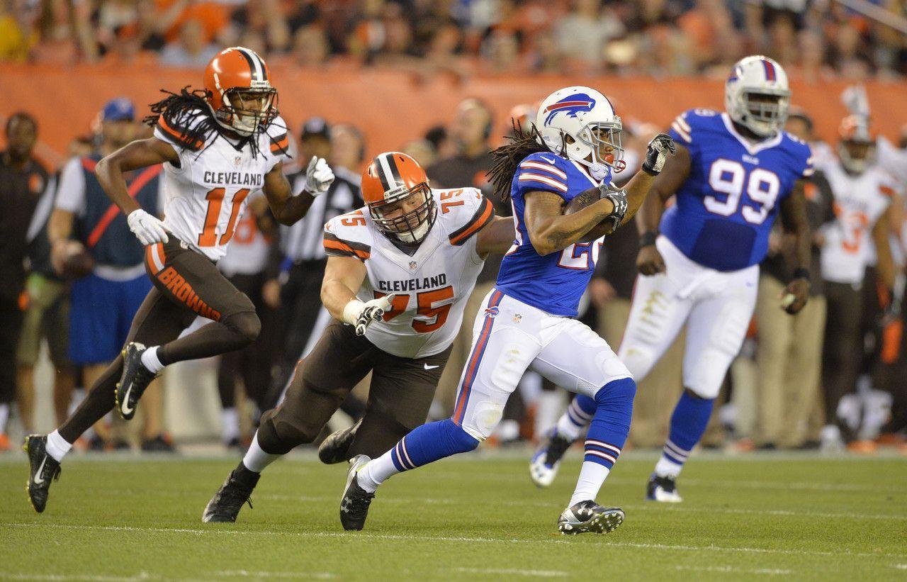 NFL.com Photos - Bills Browns Football - Ronald Darby, Andrew Hawkins
