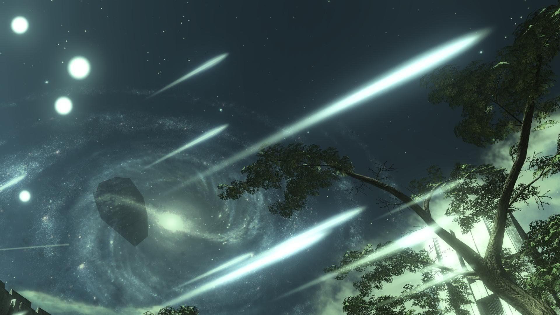 Meteor Shower Wallpaper 490535 - WallDevil