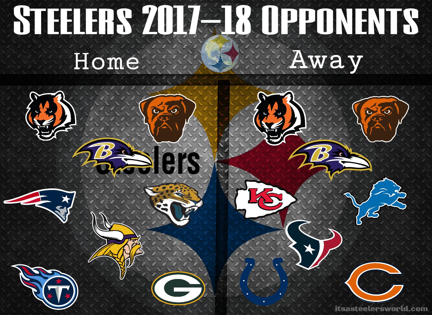 Steelers 2017-18 Opponents Wallpaper |