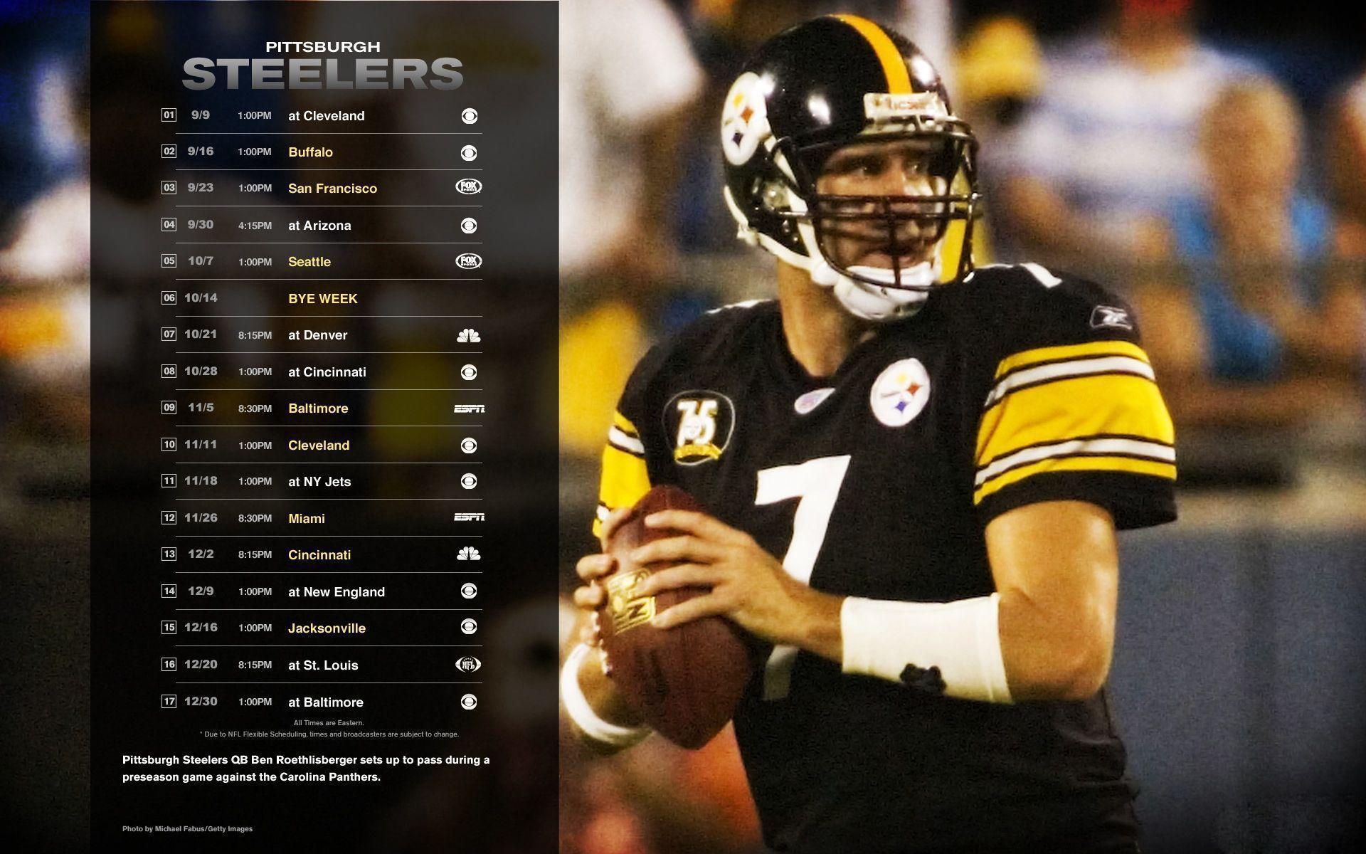 Pittsburgh Steelers Backgrounds | PixelsTalk.Net