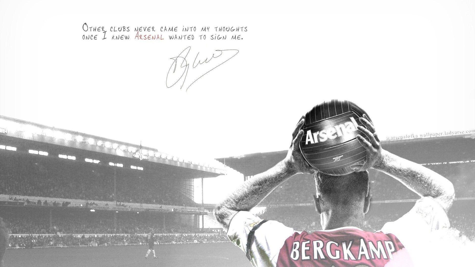 Dennis Bergkamp Arsenal Wallpaper | Football Wallpapers HD | Pinterest