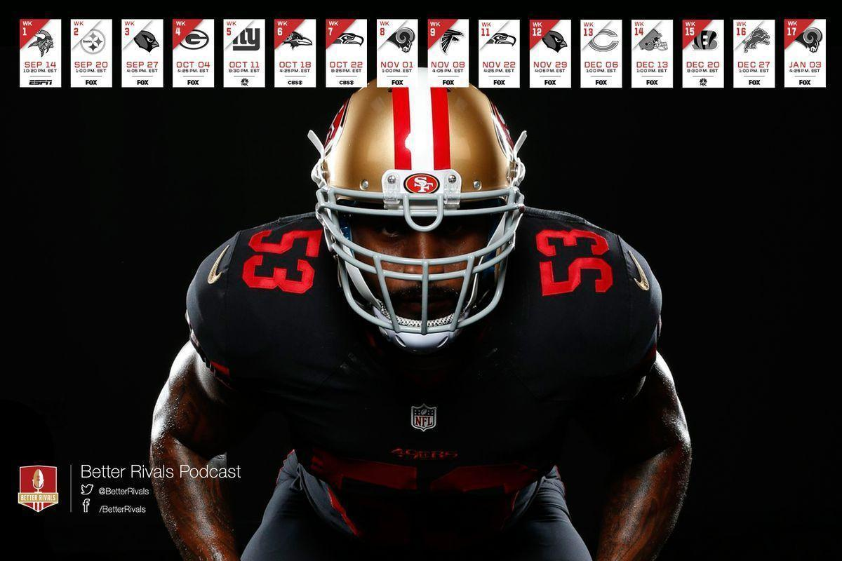 49ers 2015 Schedule Wallpapers - Niners Nation