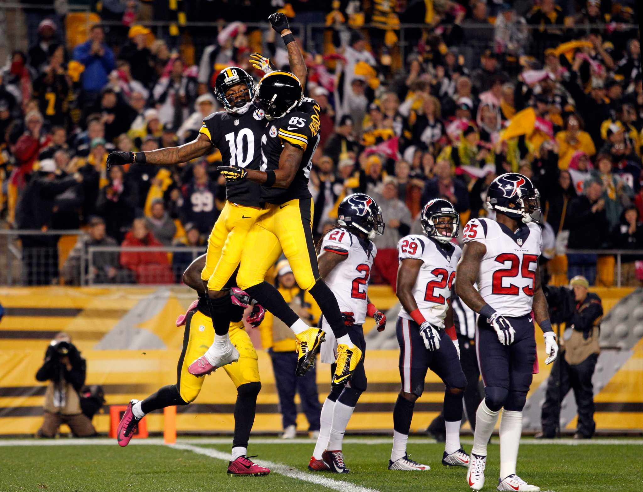 Steelers rally, outlast Texans - Times Union