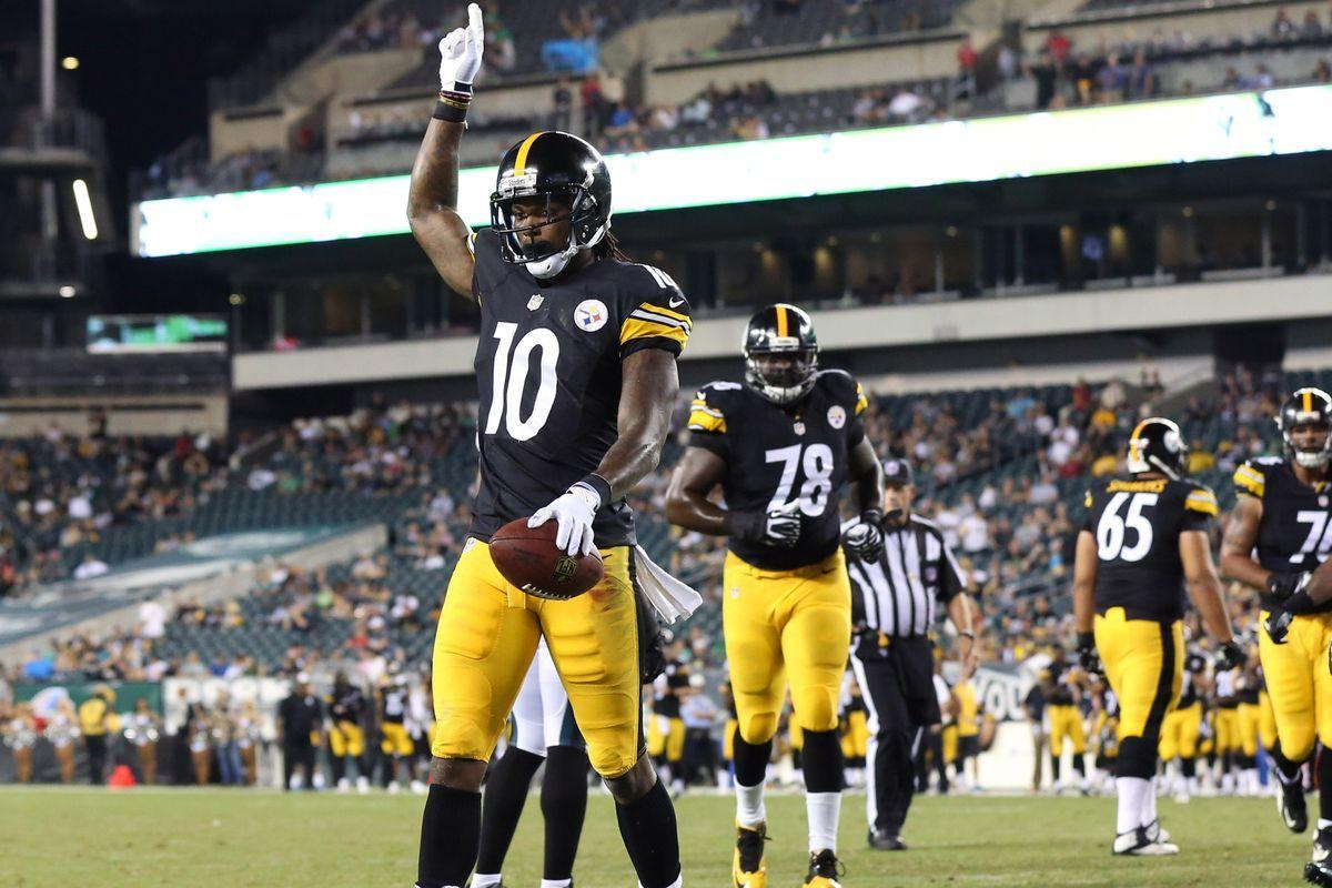 Report: WR Martavis Bryant to suit up Monday vs. Texans - Behind ...
