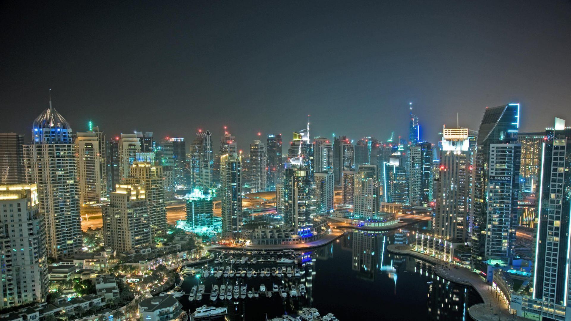 Dubái de noche - 1920x1080 :: Fondos de pantalla y wallpapers