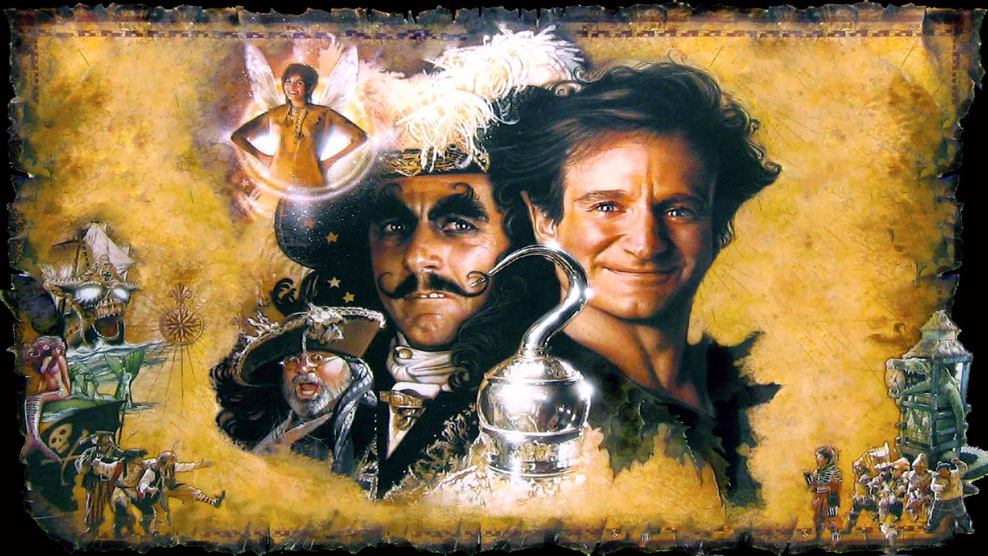 hook robin williams - Top Hd Wallpapers