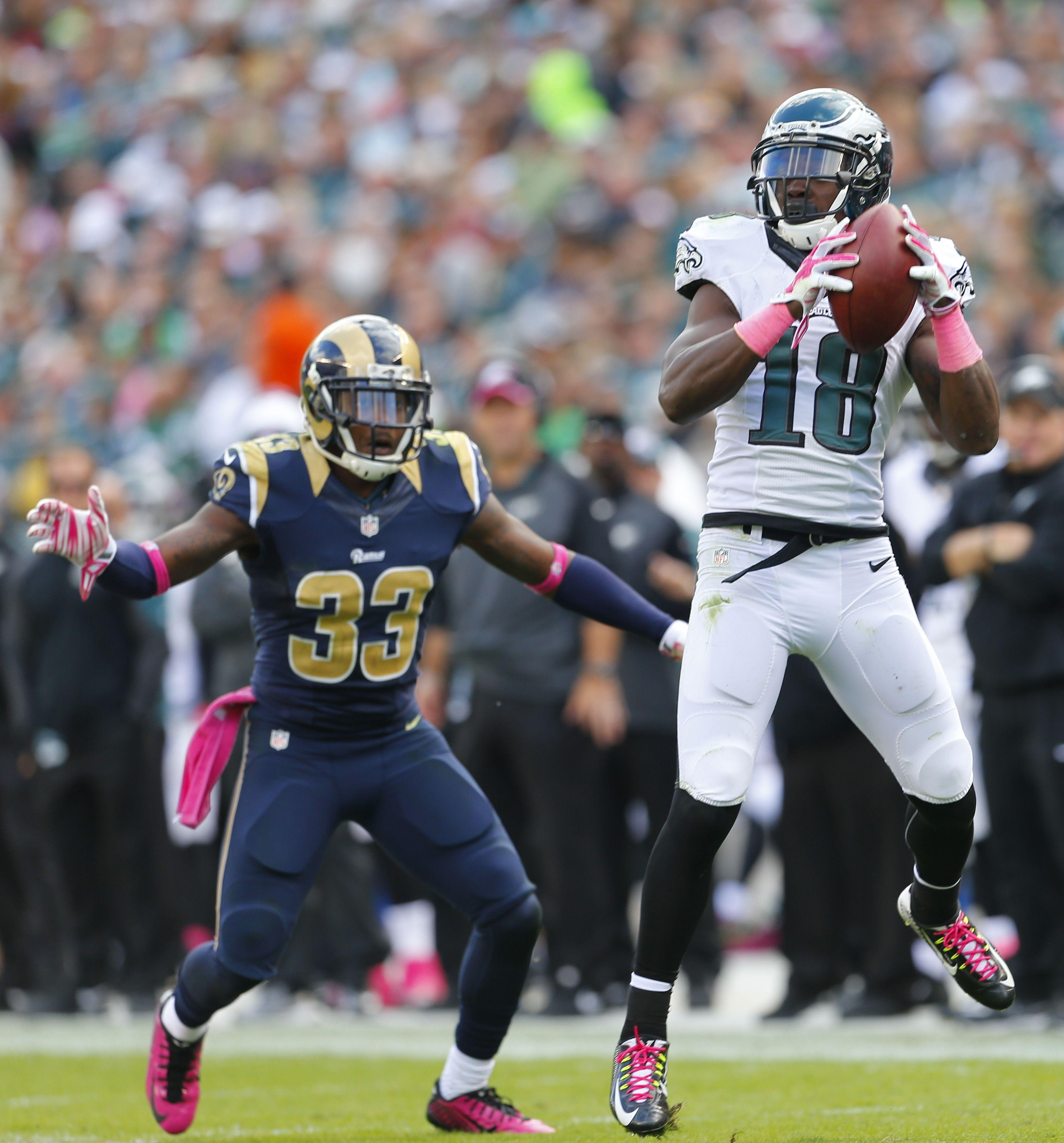 Great photos from the St. Louis Rams v Philadelphia Eagles match ...