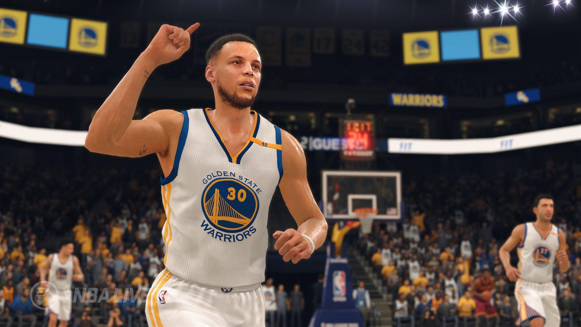 NLSC Forum • NBA Live 18. First Reveal
