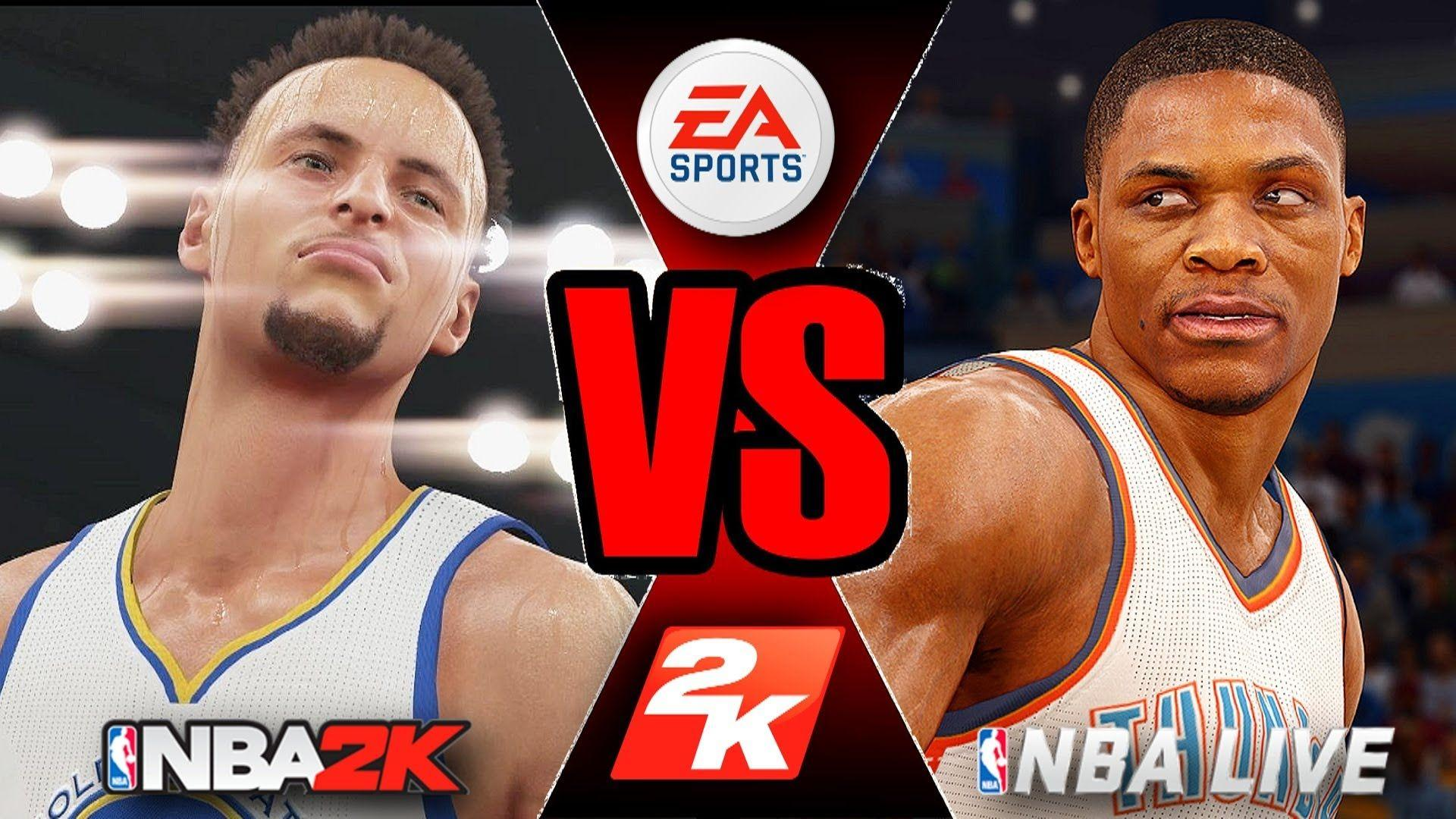 NBA 2K18 VS NBA LIVE 18! -COMPARISON (OPINIONATED) - YouTube