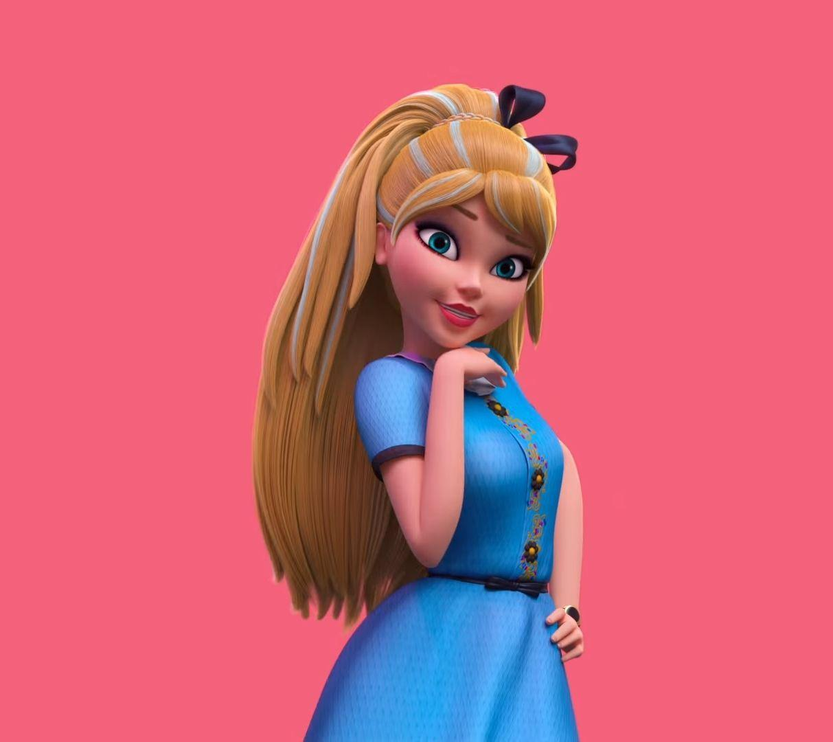 Disney Descendants: Wicked World - Ally, the Daughter of Alice ...