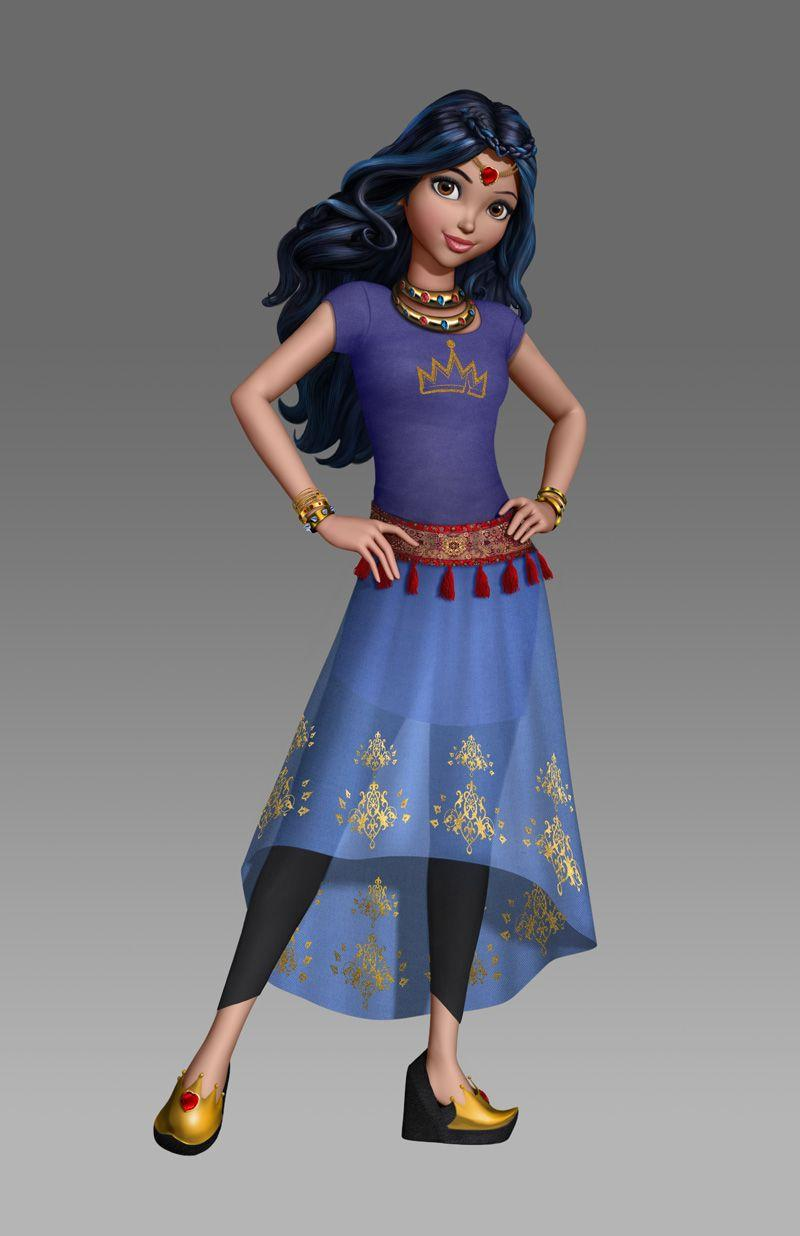 Evie genie chic wicked world descendants | Descendants | Pinterest ...