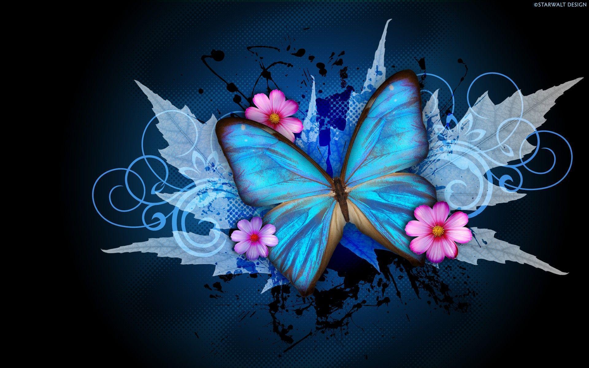 Butterfly Wallpaper for Desktop - WallpaperSafari