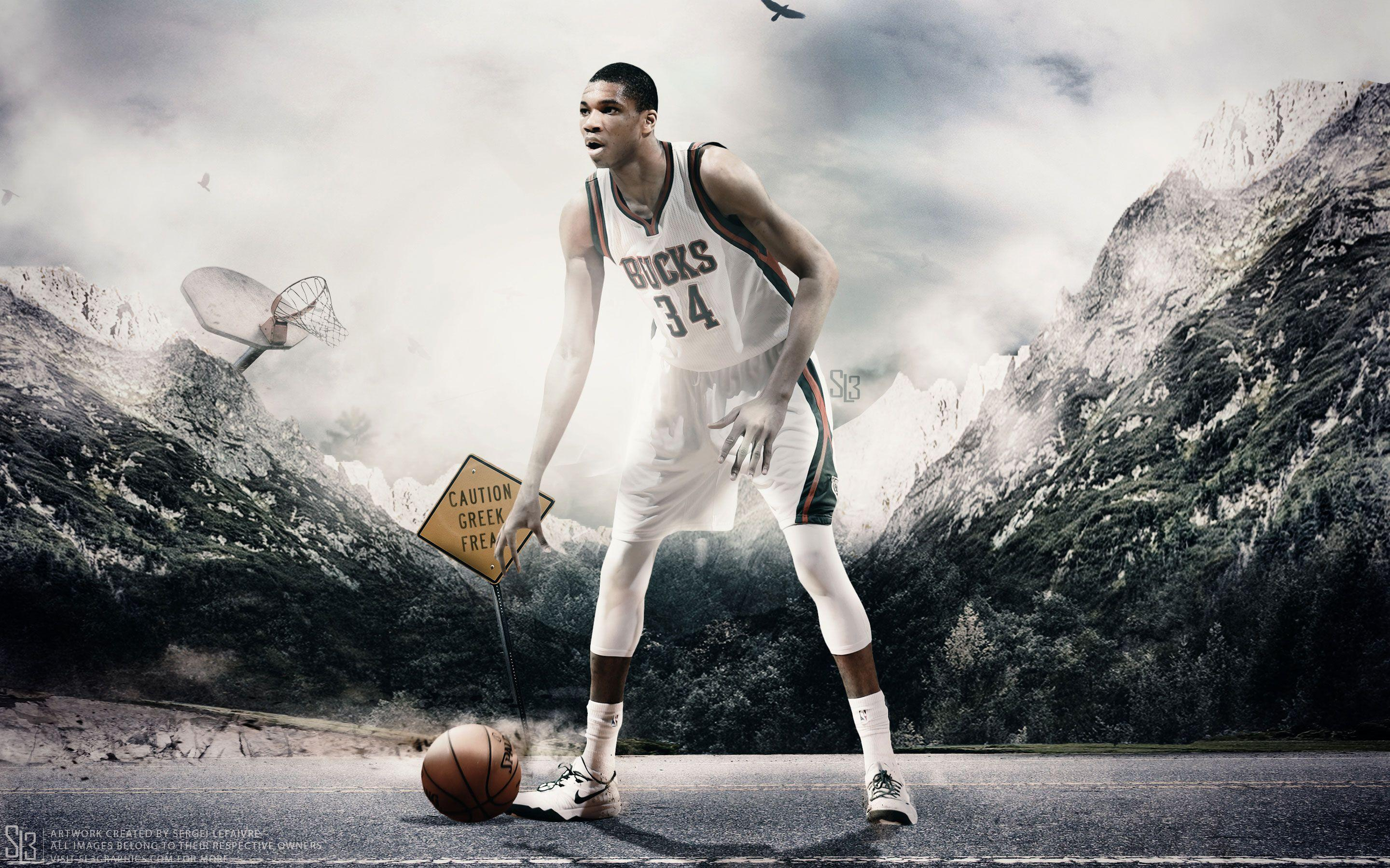 Giannis Antetokounmpo Wallpapers | Basketball Wallpapers at ...