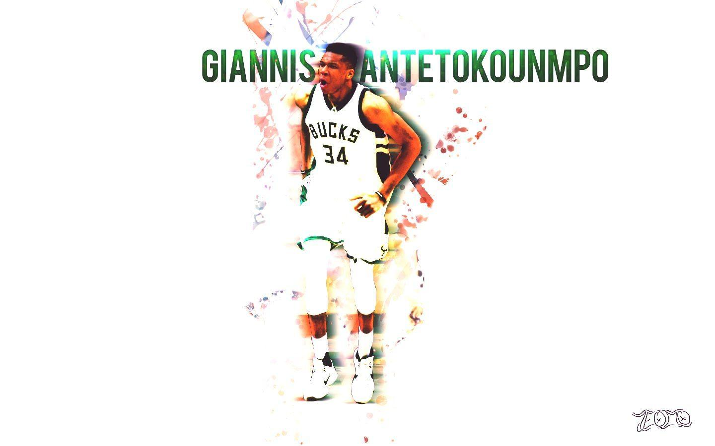 Giannis Antetokounmpo Wallpaper Speed-Art (download link in desc ...