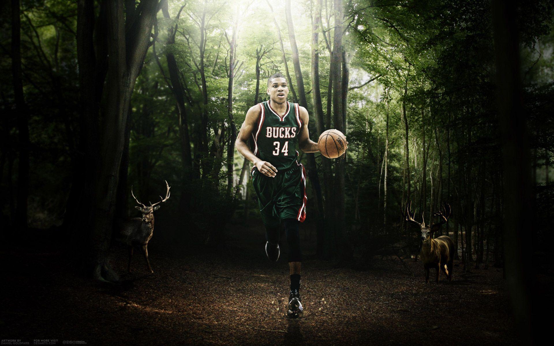 Giannis Antetokounmpo Bucks 2015-2016 Wallpaper | Basketball ...