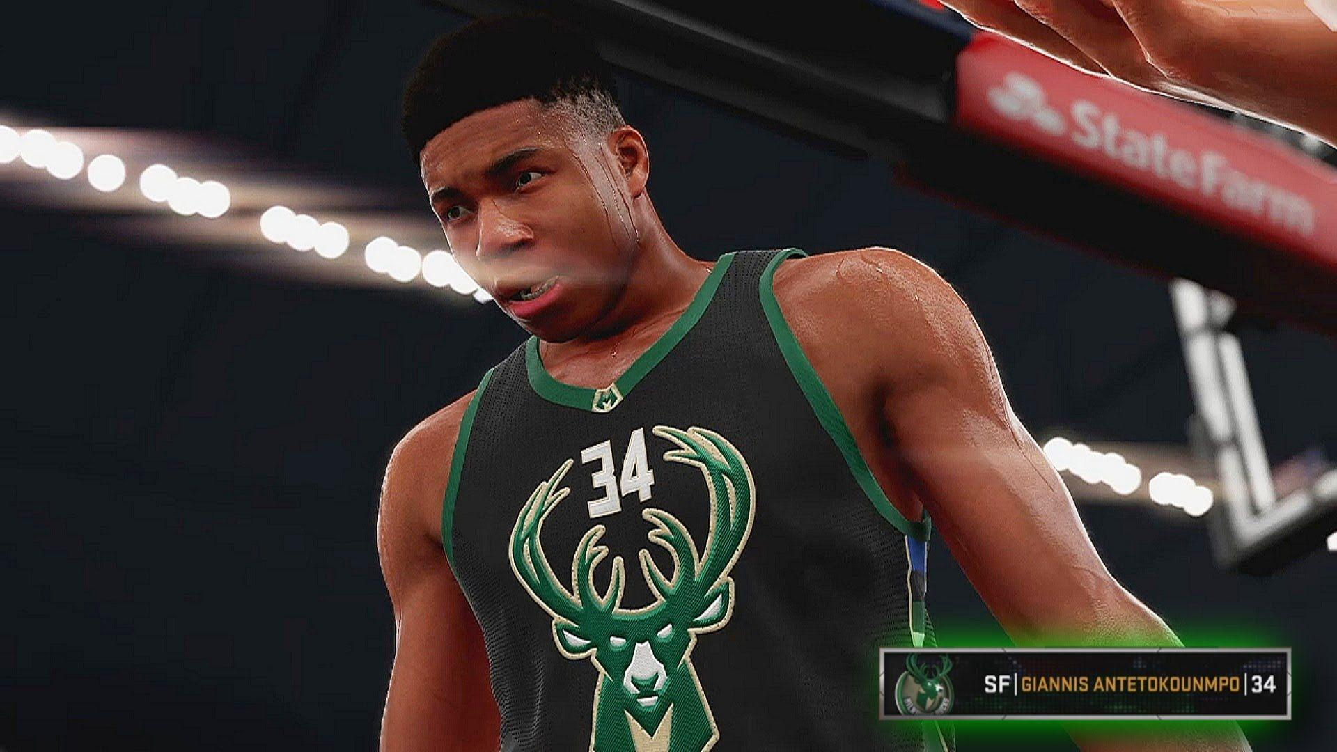 NBA 2K16 Giannis Antetokounmpo 100 Point Challenge - African Plays ...