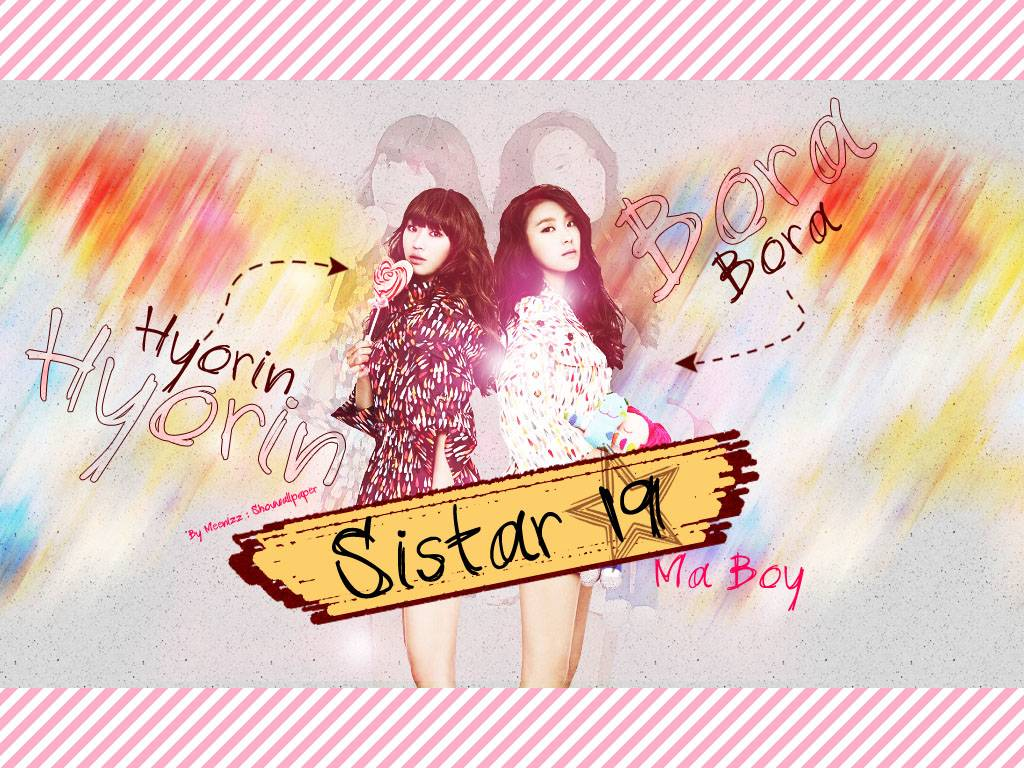 Sistar 19 : Ma boy - Sistar Wallpaper
