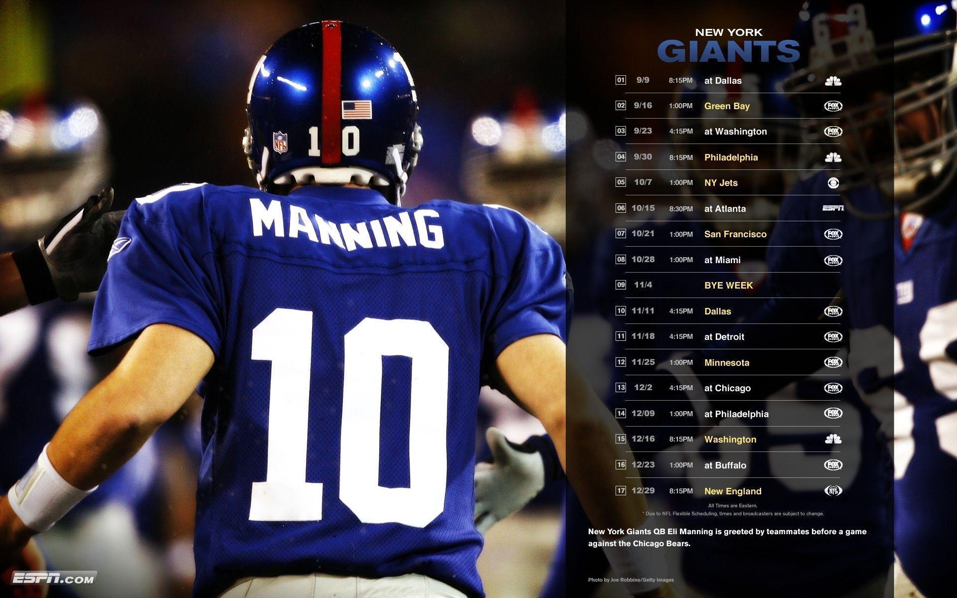 New York Giants 2015 Wallpaper - WallpaperSafari