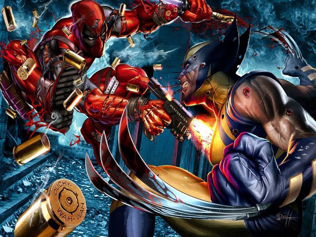 Wolverine Vs Deadpool Wallpapers Wallpaper Cave