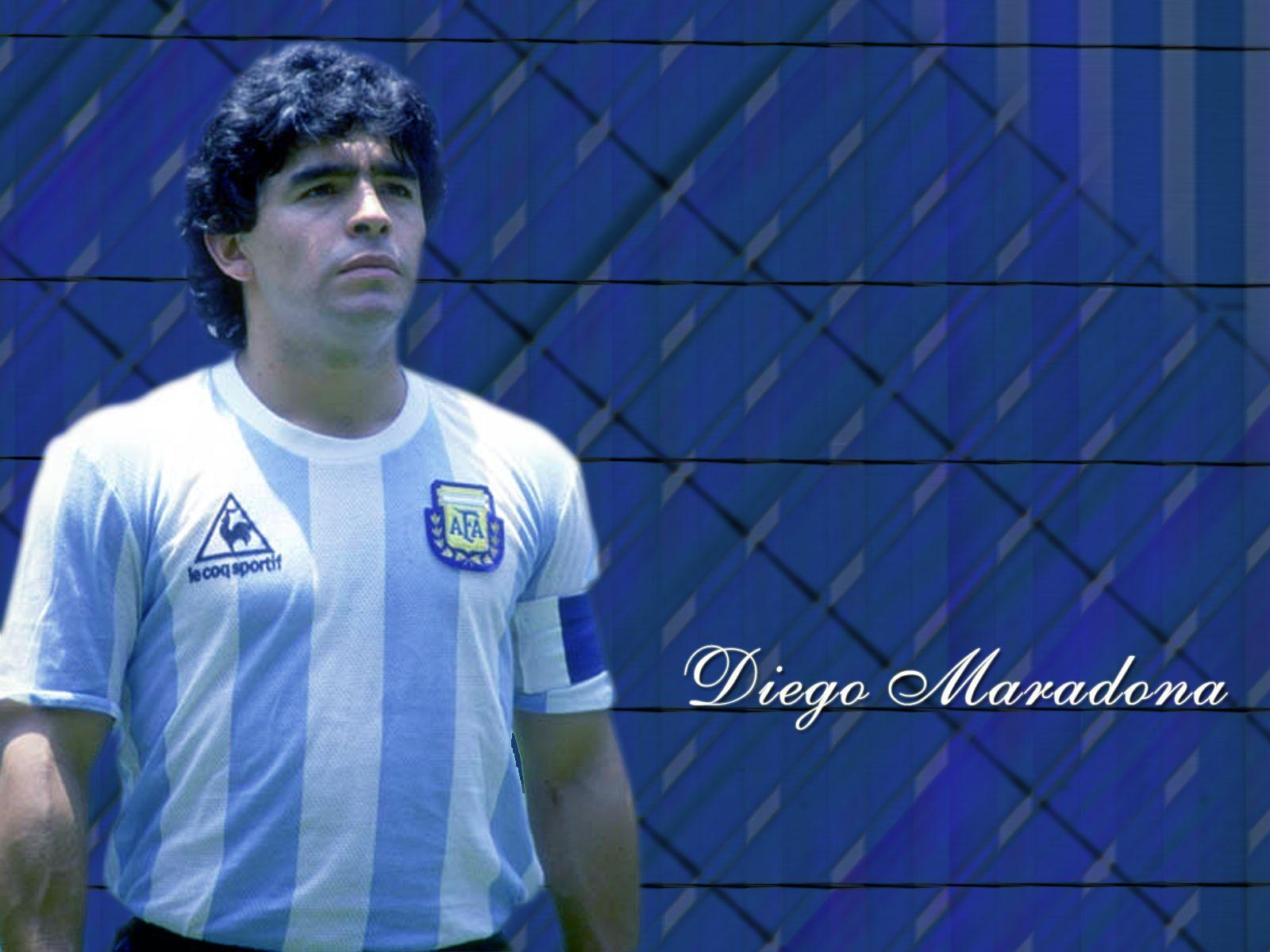 Diego Maradona Wallpapers Wallpaper Cave