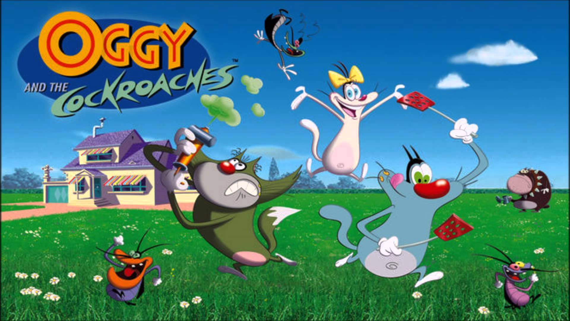 How to download the official oggy and the cockroaches game on.