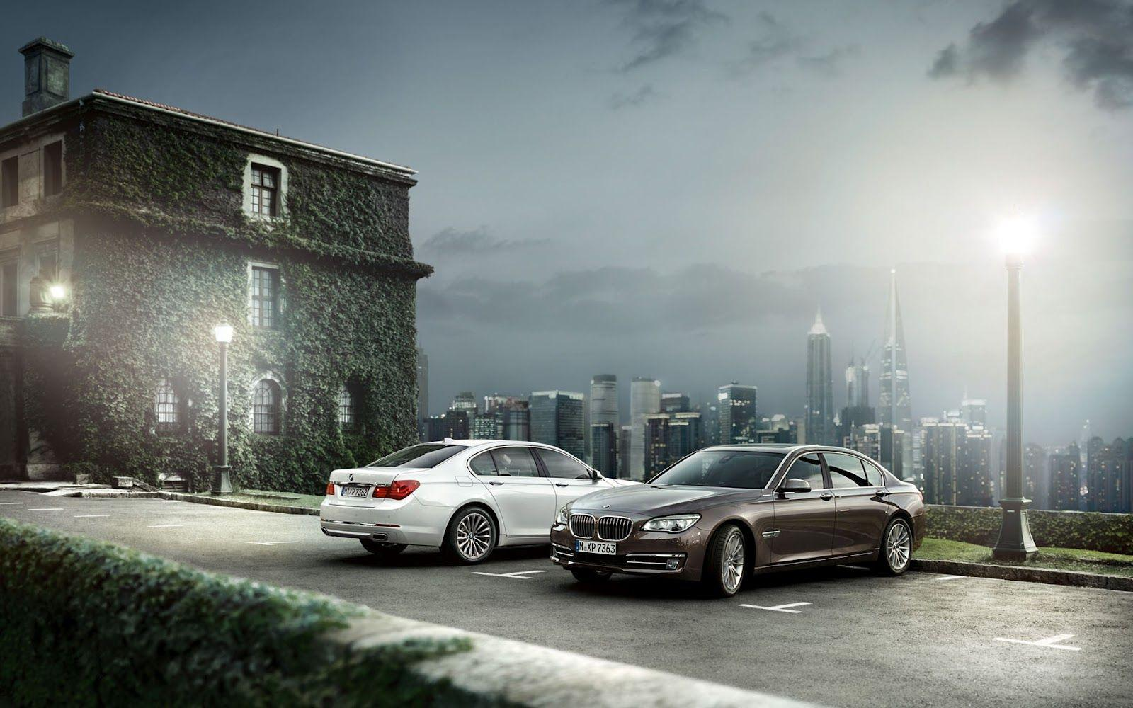 2013 BMW 7 Series LCI Facelift Wallpapers.