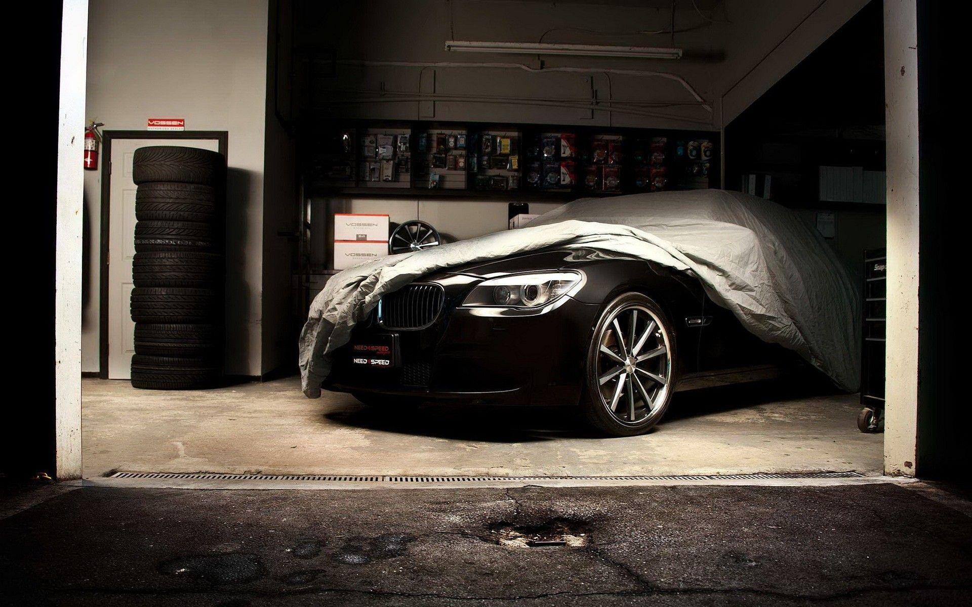 Black Cars BMW 7 Series Car Tires Garages Vehicles