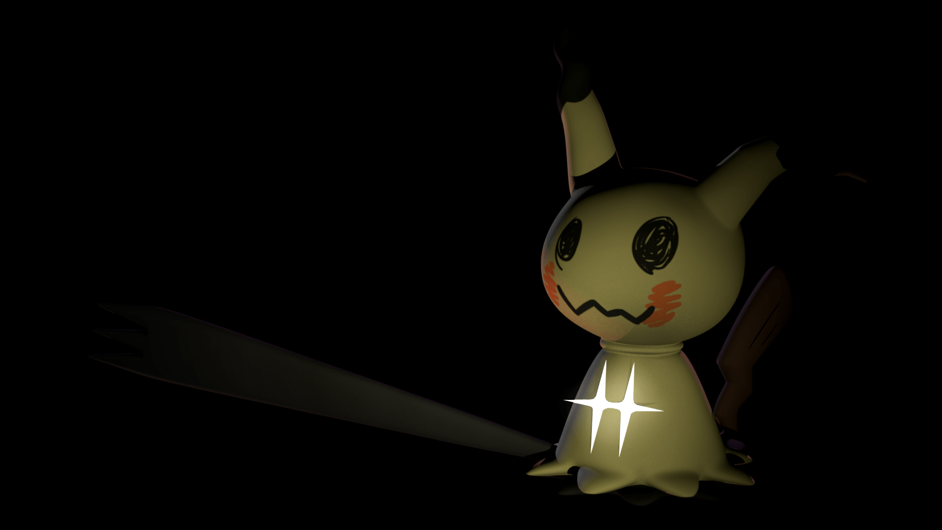 3d Mimikyu WiP by Estefanoida on DeviantArt