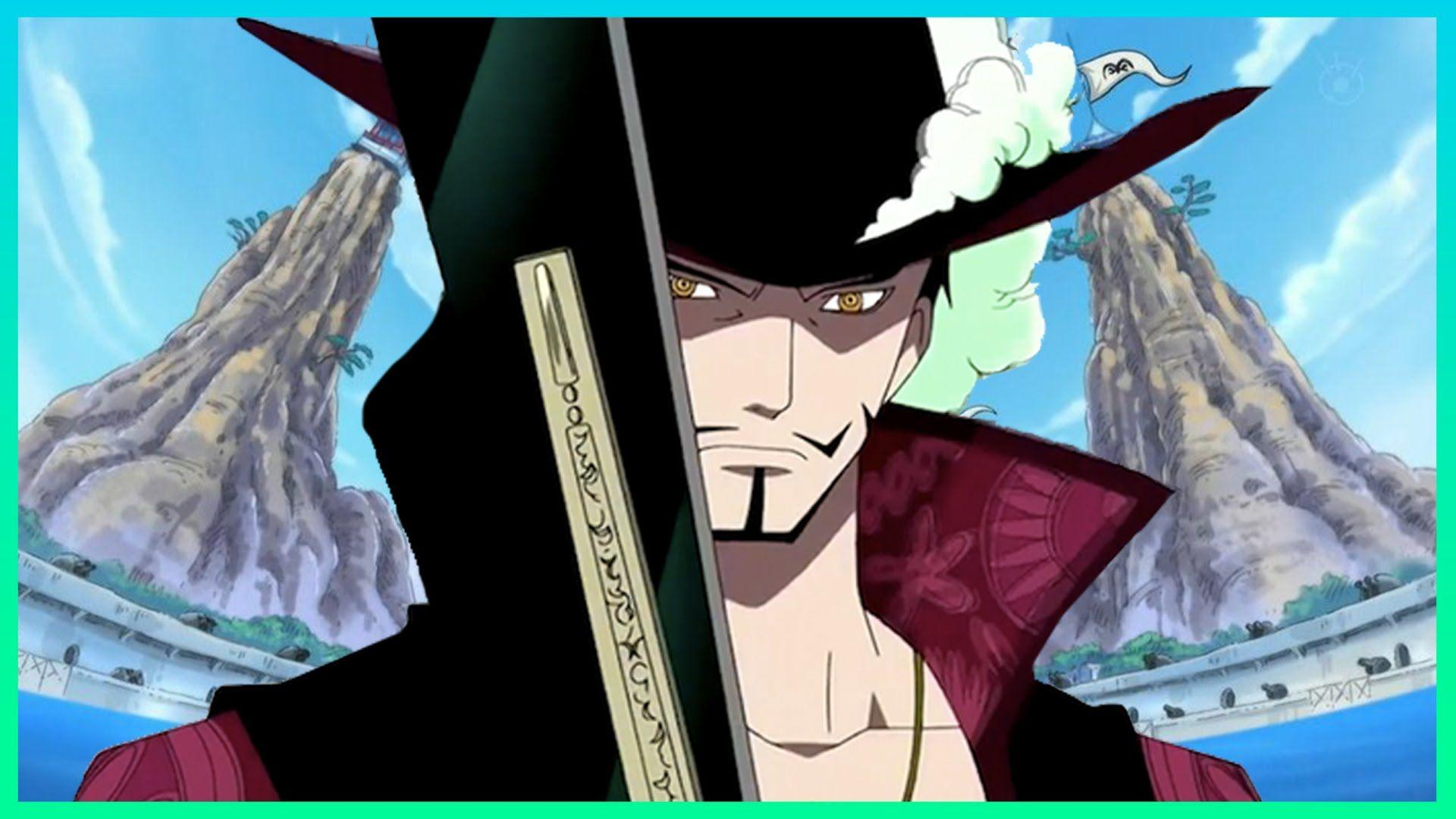 Dracule Mihawk Admiral Level?
