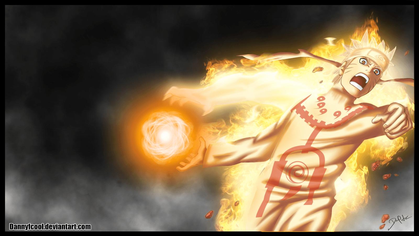 Naruto Bijuu Mode Wallpapers Wallpaper Cave