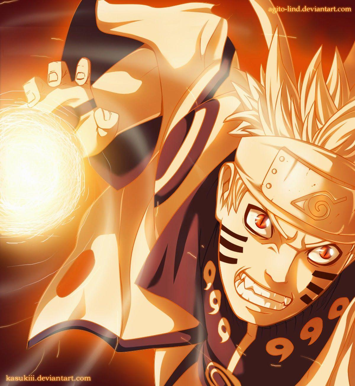 Naruto Bijuu Mode Wallpapers Wallpaper Cave