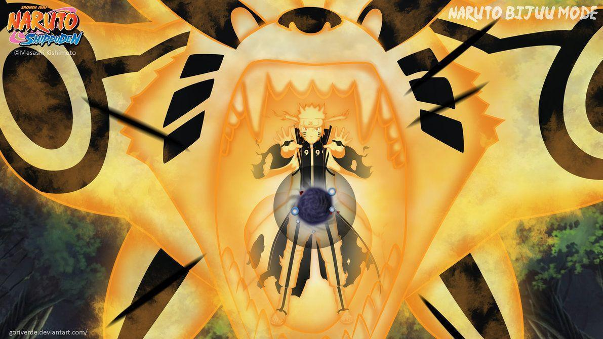Naruto Bijuu Mode Wallpapers - Wallpaper Cave