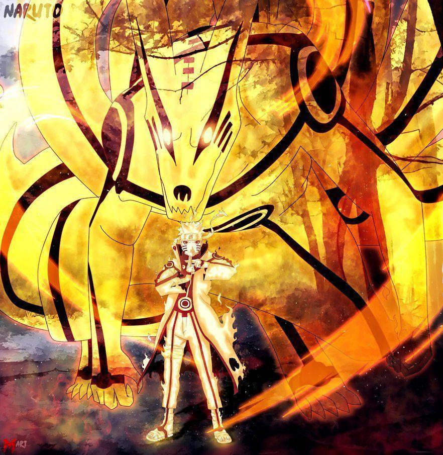 55 Gambar Naruto Kurama Paling Bagus
