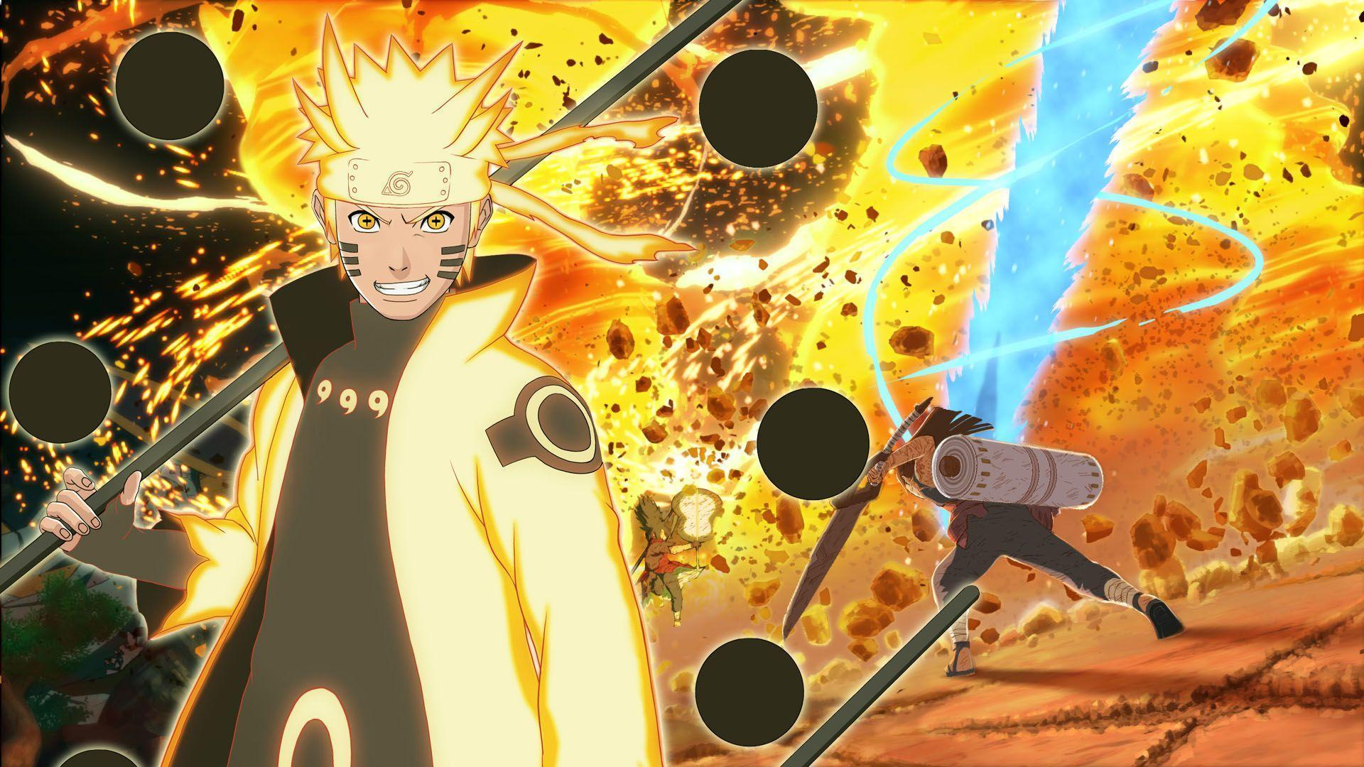 Biju Mode Naruto: Naruto Bijuu Mode Wallpapers