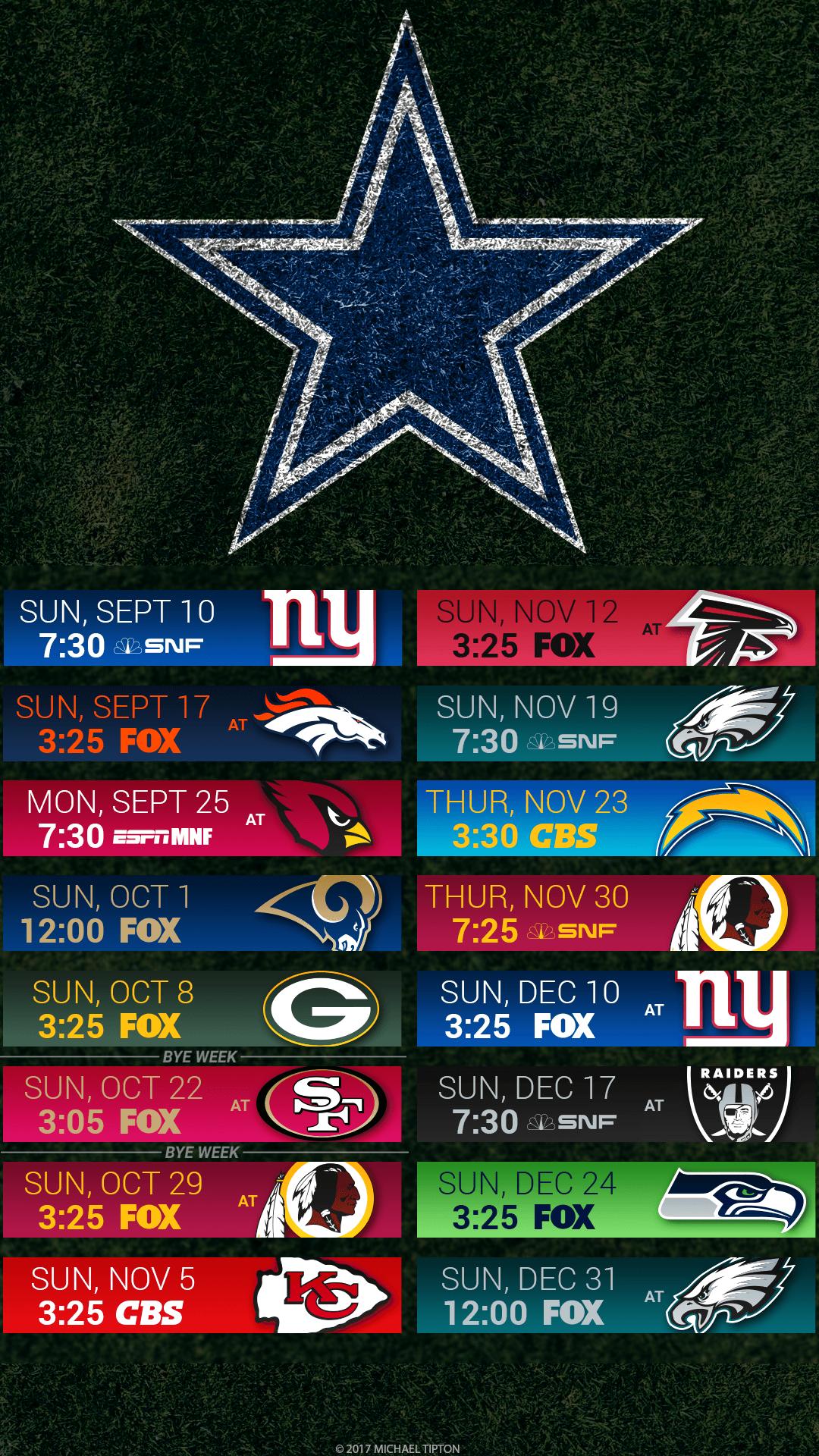 Dallas Cowboys 2017 Wallpapers