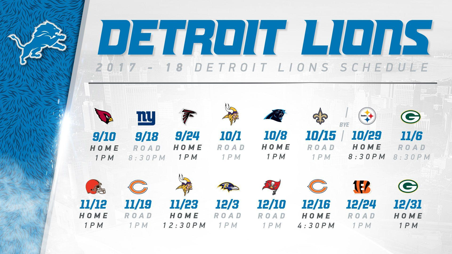 graphic relating to Detroit Lions Printable Schedule named Detroit Lions 2017 Wallpapers - Wallpaper Cave