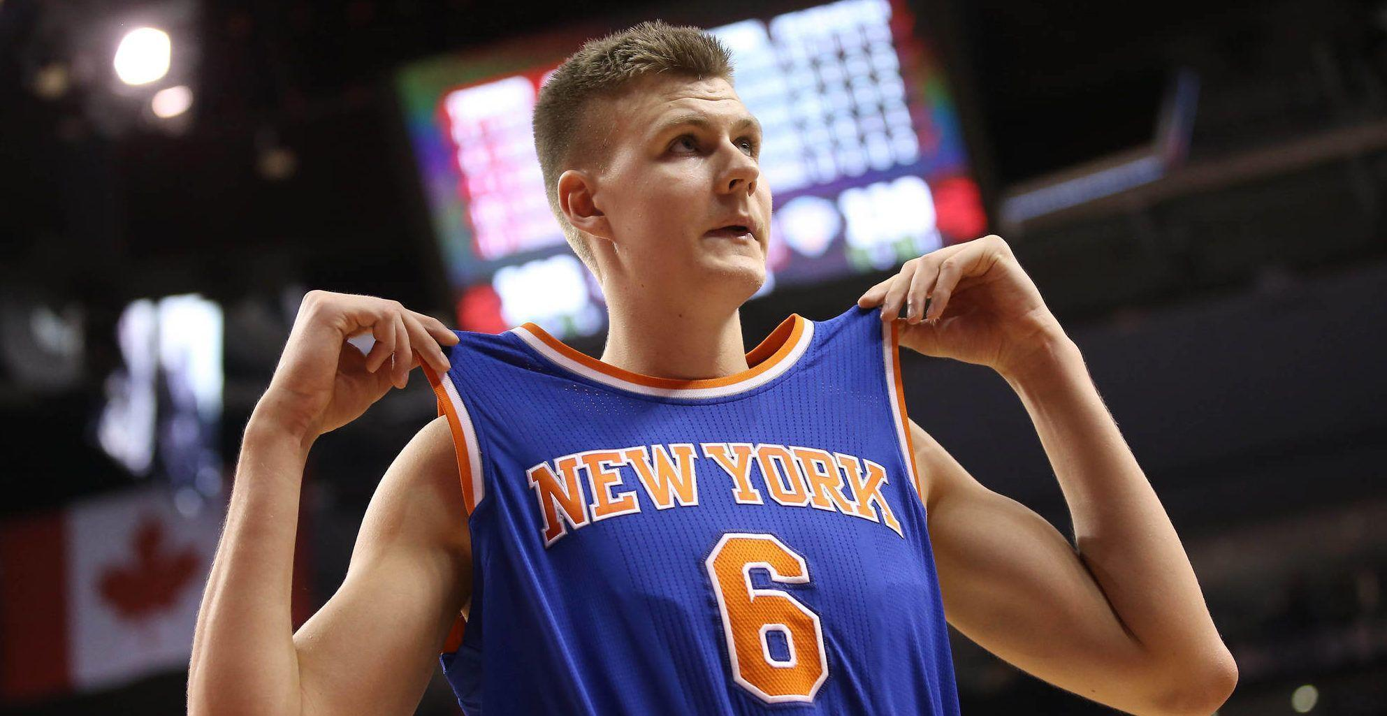 Report: Knicks getting calls from Thunder, Suns about Kristaps