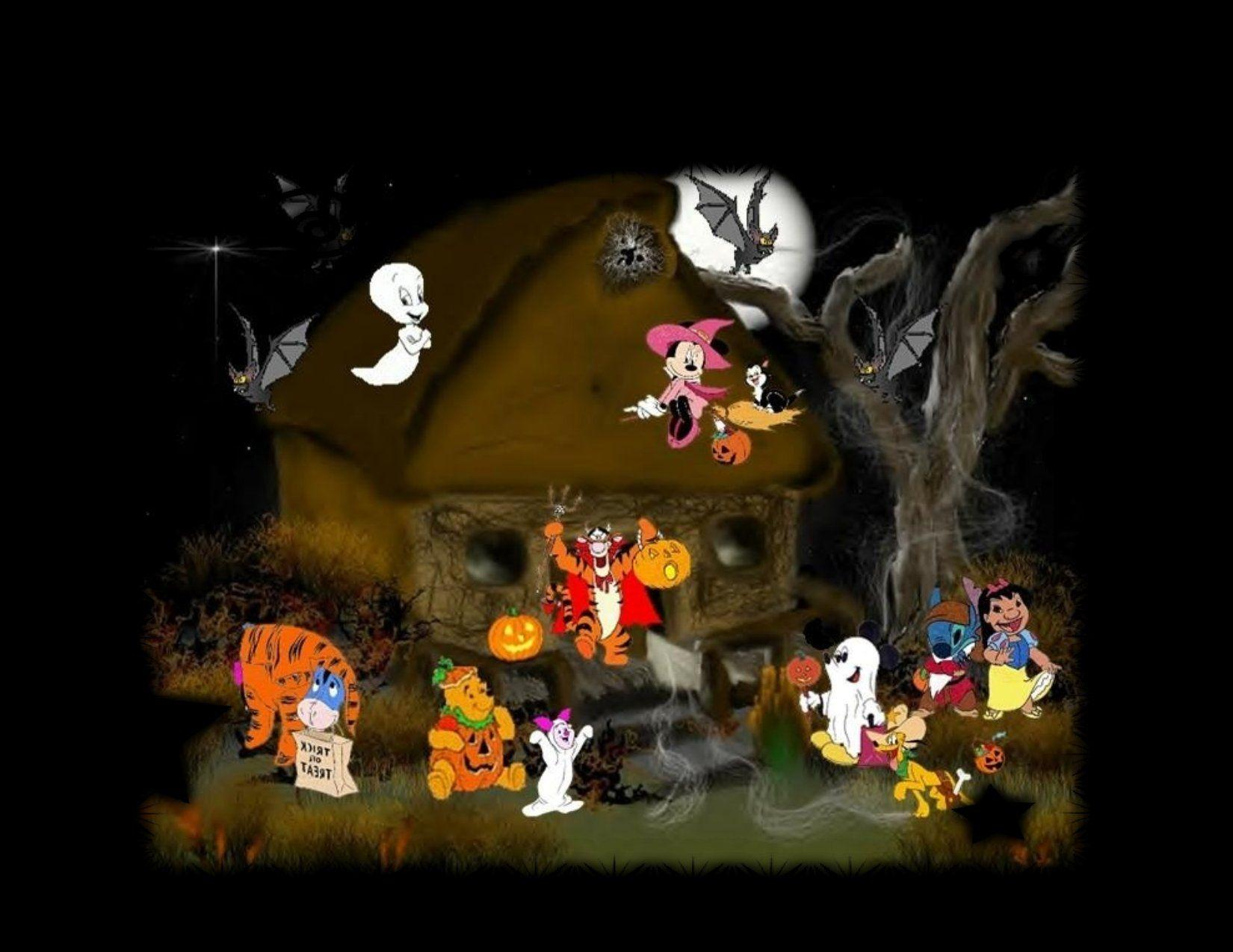 Halloween Disney Wallpapers - Wallpaper Cave